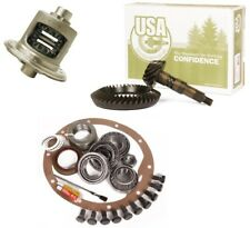 87-96 Jeep YJ XJ Dana 30 Reverse 4.11 Ring and Pinion Open Carrier USA Gear Pkg