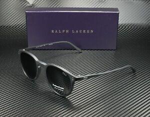 RALPH LAUREN POLO PH4110 528487 Matte Black Grey 50 mm Men's Sunglasses