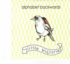(FT158) Alphabet Backwards, Little Victories - DJ CD