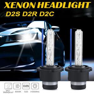 2X 35W D2S D2R D2C Xenon Car Replacement HID Headlight Light Lamp Bulbs Kit Pair