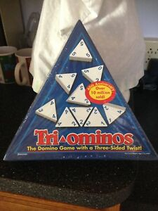 Tri Ominos Domino Game 40th Anniversary Collectible Edition Brand New Sealed