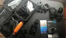 GoPro HERO5 Action Camera - Black And GoPro 4 Sessions