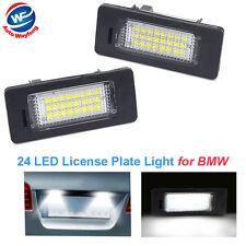 2x LED License Plate Number Light Lamp for BMW E90 M3 M5 E92 E70 E71 E39 E60 E93