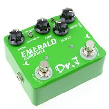 Dr.J D-60 Green Emerald Overdrive Mosfet Diode Guitar Effect Pedal by JOYO