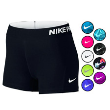 """Nike Pro Core Combat 3"""" Compression Shorts Spandex Logo Running Exploded Tights"""