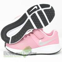Nike 912442-601 Girl's Star Runner (PSV) Shoes Elemental Pink/Mtlc Silver(11.5C)