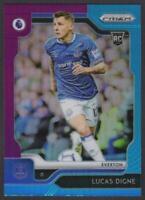 2019-20 Prizm Premier League MULTICOLOR #38 Lucas Digne RC Rookie Card Everton