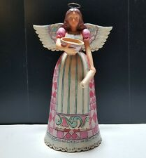 Enesco Jim Shore Heartwood Creek Baking Angel 4033802 Blessed Are The Bakers