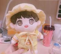 KPOP Wanna One Daniel EXO GOT7 20cm Plush Doll's Clothes T-shirt+pants【no doll】