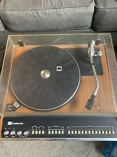 ADC Accutrac 4000 turntable ADC EW1 W/ original box, all accessories and disks