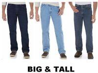 Wrangler Authentics  Regular Fit Jean Classic 5-Pocket Men's Big and Tall