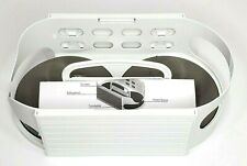 Roto Caddy White 7x10 Lazy Susan Swiveling Storage System New with Instructions