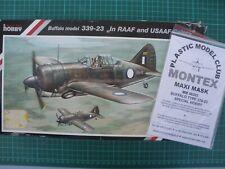 1/48 maquette avion SPECIAL HOBBY 48057 Brewster Buffalo model 339-23 RAAF USAF