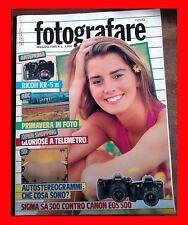 FOTOGRAFARE 5 1994 RICOH KR - 5 III LA PRIMAVERA IN FOTO SIGMA SA 300 CANON EOS