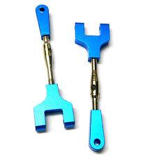 86611 / 286020 1/16 scala lega di alluminio REAR UPPER SUSPENSION ARMS x2