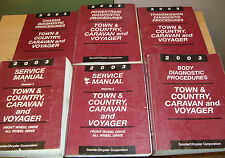 2003 Chrysler Town Country Voyager Dodge Caravan Service Manual 1 2 Diagnostics