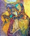 Madonna SILENT PRAYERS Virgin Mary Lynne French Artist Signed Print 8x11