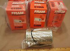 *LOT OF 3 PCS * FRAM FULL FLOW HYDRAULIC FILTERS, P/N:C1666, WIX P/N:51467 M939