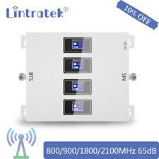 ?Vier Bands LCD Booster 800/900/1800/2100MHz Handy Signal Verstärke Für Zuhause?