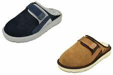 Authentic UGG Men's Dune Slip-On Mule 1102871 Chestnut, Navy Slipper