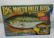 Big Mouth Billy Bass Singing Music Fish Funny with box