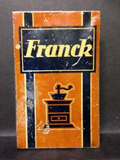 alte Blechdose,Aecht Franck,Kathreiner,Kaffee Zusatz,Kaffeemühle