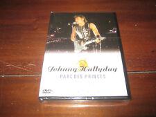 johnny hallyday dvd neuf sous blister parcs des princes 1993