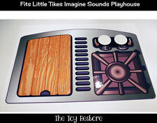 New Replacement Decals Stickers fits Little Tikes Imagine Sounds Playhouse