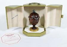 Rare Faberge Swag Egg #314/750 St. Petersburg Collection By Theo Faberge Ruby
