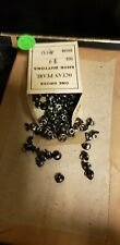 New listing Pearl Shoe Buttons, Old Store Stock Magee Button Co, Muscatine, Ia, 144 In Box