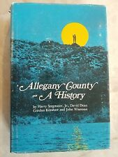 1976 Allegany County A History Cumberland Maryland Area