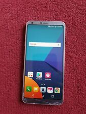 LG G6 H872TN - 32gb (Locked to foreign T-mobile network) CRACKED SCREEN