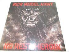 "NEW MODEL ARMY - NO REST / HEROIN - UK 12"" P/S VINYL - INDIE - PUNK"