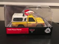 Disney  - Pixar Cars Todd Planet Pizza 1:43 DIECAST Collector's Item
