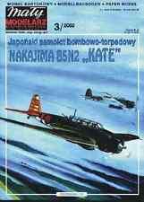 Maly Modelarz 3/02 japanischer Torpedobomber Nakajima B5N2 Kate   1:33