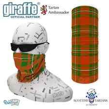 MacGregor Clan Scottish Tartan Multifunctional Headwear Neckwarmer Tube Bandana