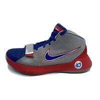 Nike KD Trey 5 III Basketball Shoes Men's Size 10.5 Grey Blue Red 749377-046