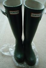 WOMENS OLIVE GREEN HUNTER WELLINGTON BOOTS SIZE 4