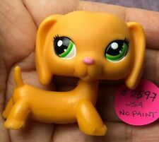 💖🐶Authentic Littlest Pet Shop #2597 Dachshund +1 Random LPS Yellow Blind Bag