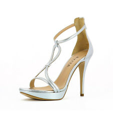Evita »VALERIA« High-Heel-Pumps, Gr.42, Glattleder, B-WARE