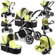 Ivogue - PEAR Luxury 3in1 Pram Stroller Travel System by iSafe (complete With Ca