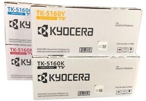 Neu Kyocera TK-5160 TK5160 Toner Set Rainbow Kit B