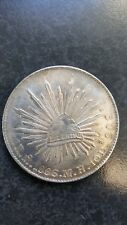 1886 Republica Mexicana Silver Coin