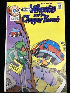 Wheelie and the Chopper Bunch #1 Charlton Comics 1975 w/ John Byrne art ~8.0 VF