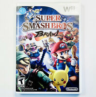 Super Smash Bros. Brawl Nintendo Tested Nintendo Wii Game CIB Complete Free Ship