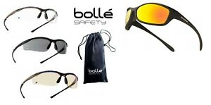 BOLLE CONTOUR, SPIDER CYCLING SAFETY GLASSES RIDING SPORTS EN166 PPE sunglasses