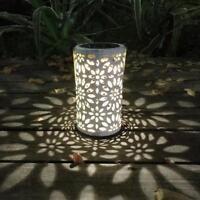 Solar Laterne Solarleuchte Solarlampe Gartenleuchte Leuchte hängend Solardiamant