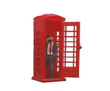 Modelscene 5005 Telephone Box And Caller (Kit) OO Gauge