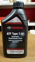 8 Quarts Toyota / Scion / Lexus Automatic Trans Fluid Type-4 ATF - OEM NEW!