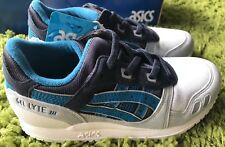 New ASICS Gel-Lyte III PS Kids Sneaker Sport Shoe US 2 No Need Tie ShoeLace